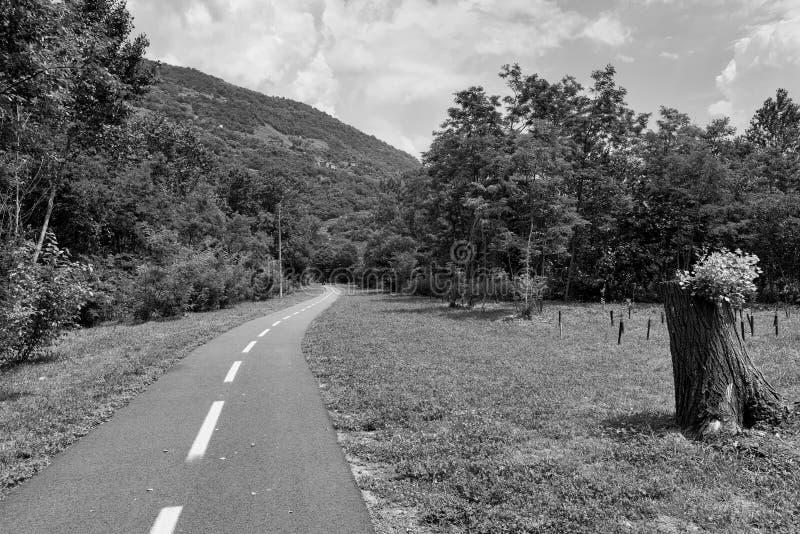 Della la Valteline Lombardie, Italie de Sentiero photographie stock