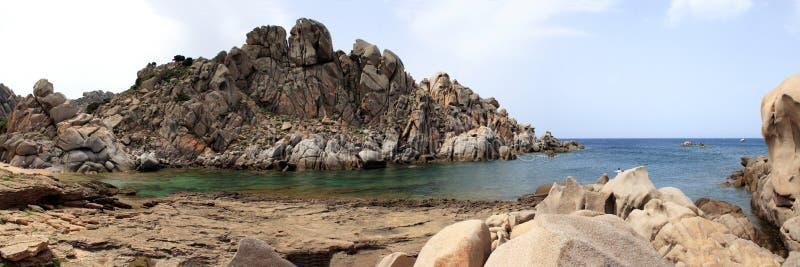 Della Luna de Valle - Testa do Capo - Sardegna fotos de stock royalty free
