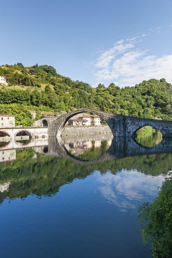 Della Maddalena (Lucca, Toscana) di Ponte immagini stock libere da diritti