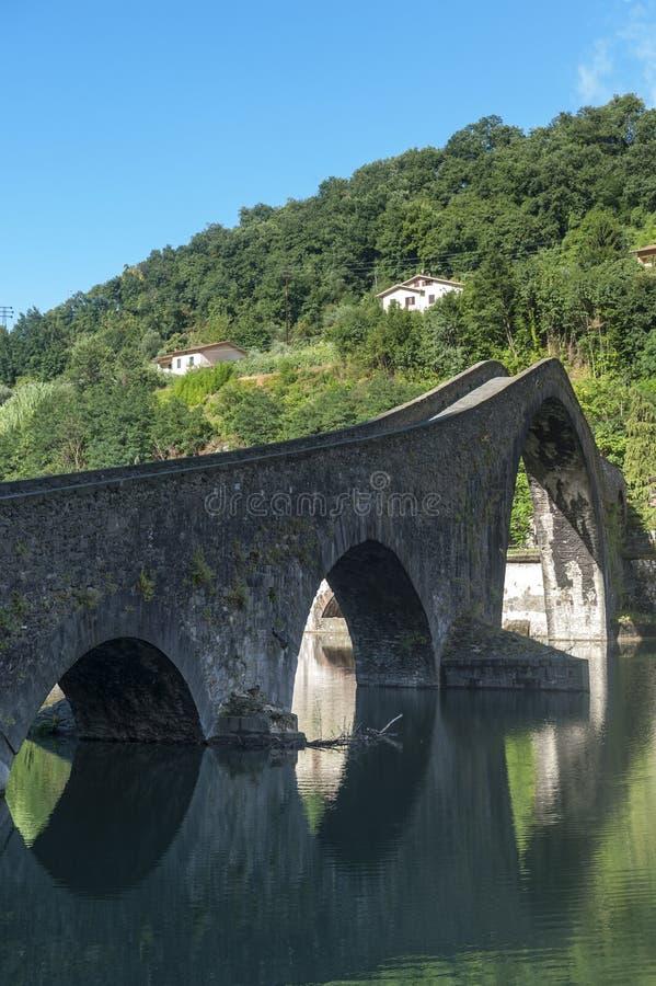 Della Maddalena (Lucca, Toscana) di Ponte immagine stock