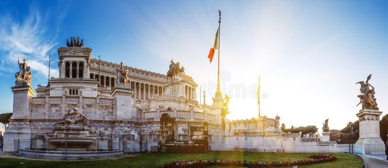 Della Patria de Altare em Roma, Italia foto de stock royalty free
