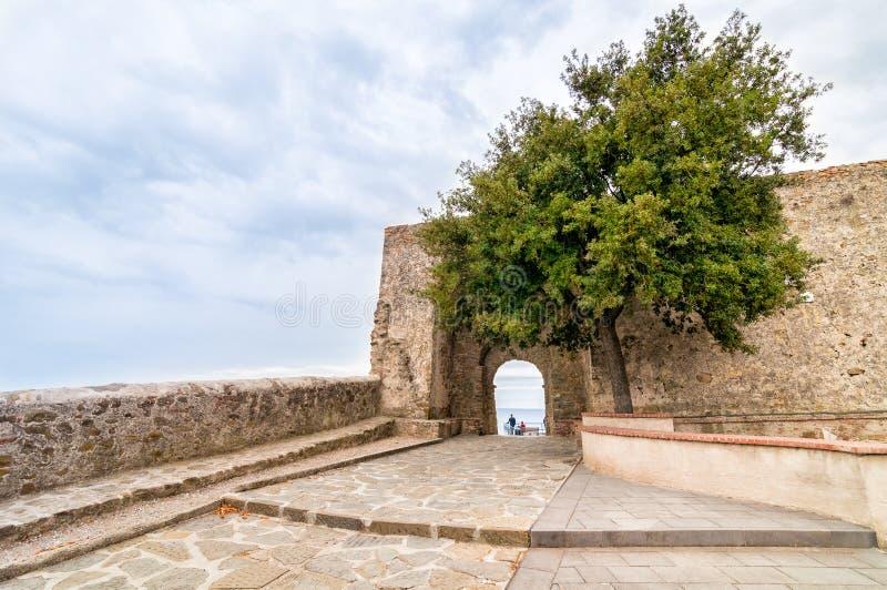 Della Pescaia de Castiglione en Toscana, Italia imagenes de archivo