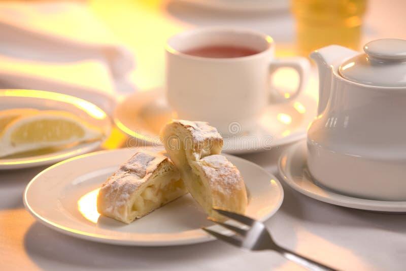 Della prima colazione vita ancora fotografia stock