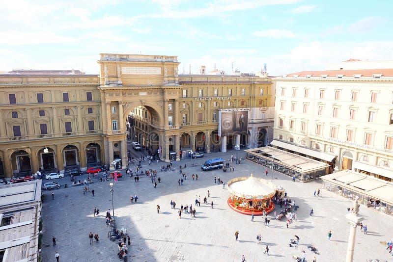 Della Repubblica de la plaza fotos de archivo libres de regalías