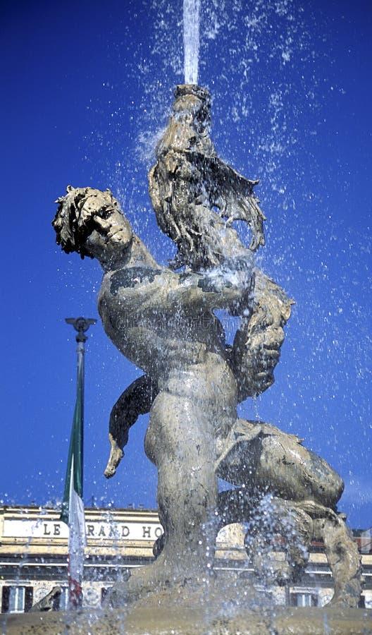 Della Repubblica de la plaza imagen de archivo