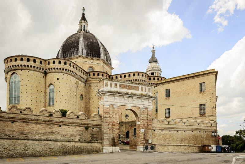 Della Santa Casa da basílica fotos de stock royalty free