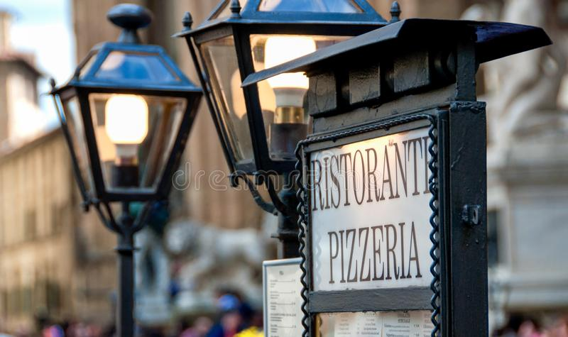Della Signoria, Florencia de la plaza imagen de archivo