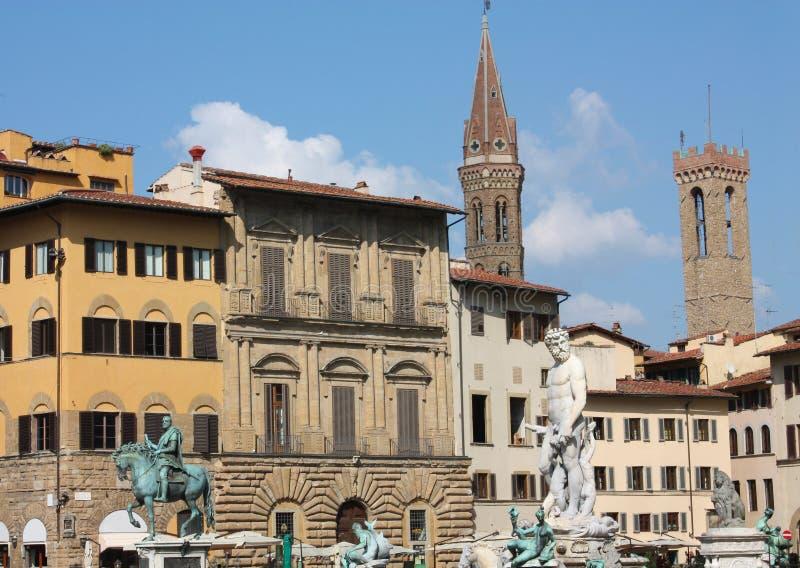 Della Signoria, Florencia, Toscana, Italia de la plaza. fotografía de archivo libre de regalías
