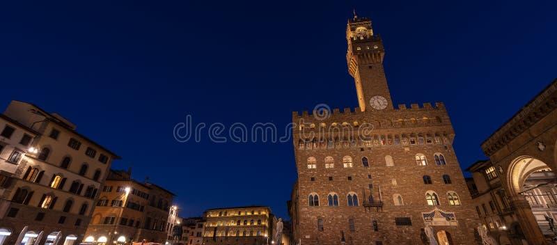 Della Signoria - Palazzo Vecchio Florença Italia da praça imagens de stock royalty free