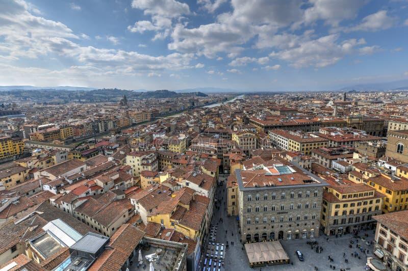 Della Sigoria - Florença da praça, Itália foto de stock royalty free