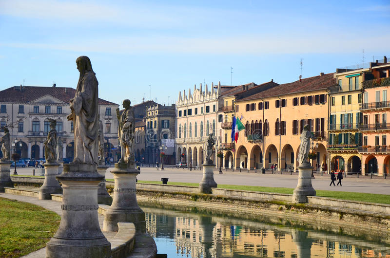 Della Valle de Prato, Padua imagem de stock royalty free