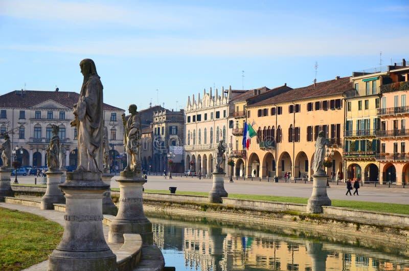 Della Valle, Padua van Prato royalty-vrije stock afbeelding