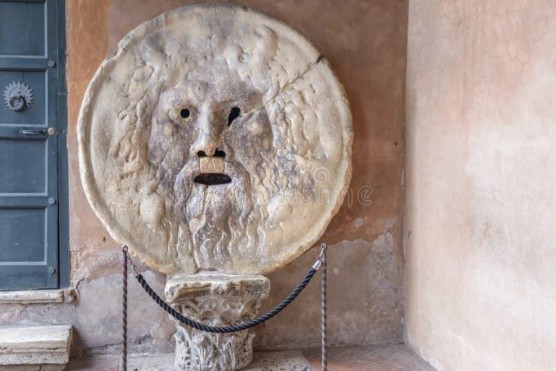 Della Verità van La Bocca(het Engels: de Mond van Waarheid) royalty-vrije stock foto's