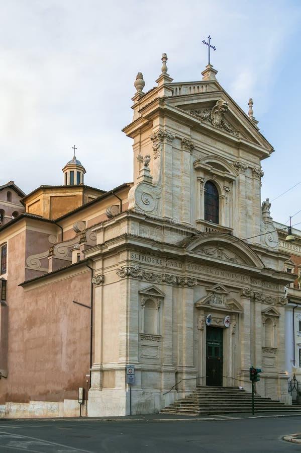 Della Vittoria, Ρώμη της Σάντα Μαρία στοκ φωτογραφίες με δικαίωμα ελεύθερης χρήσης