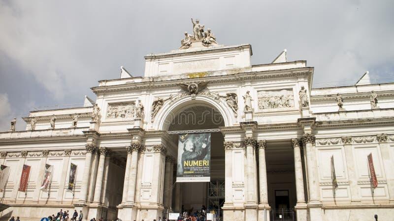 Delle Esposizioni de Palazzo de Roma imagen de archivo libre de regalías