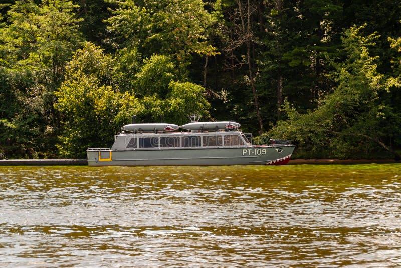 Dells van Wisconsin rivier stock afbeeldingen