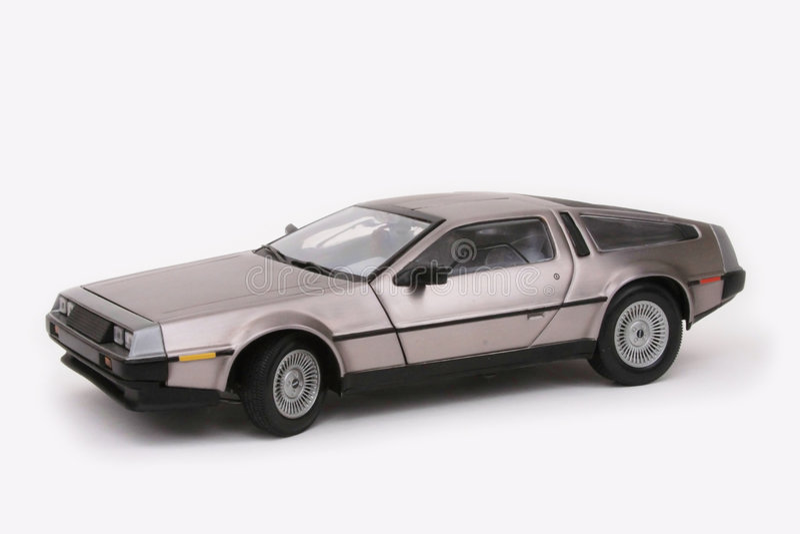 DeLorean stock images