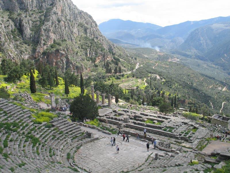 Delphes, Grèce image stock