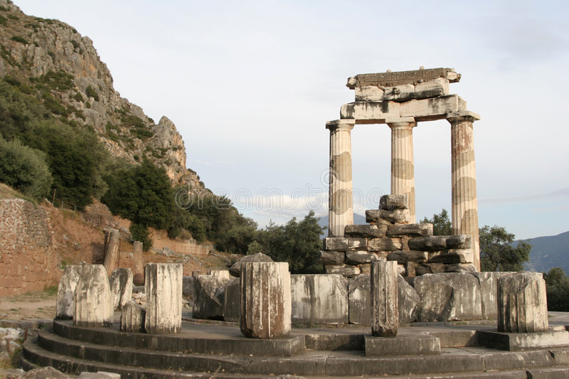 delphi Греция стоковая фотография