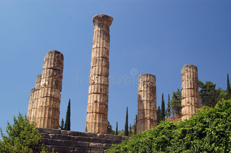 Delphi imagens de stock