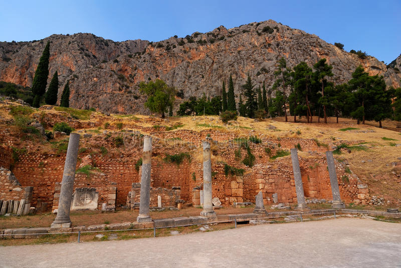 Download Delphi Ancient Site, Greece Stock Photo - Image of purity, antiquity: 17522520
