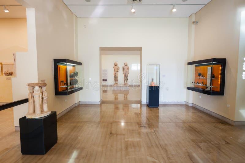 Delphi Archaeological Museum stock foto