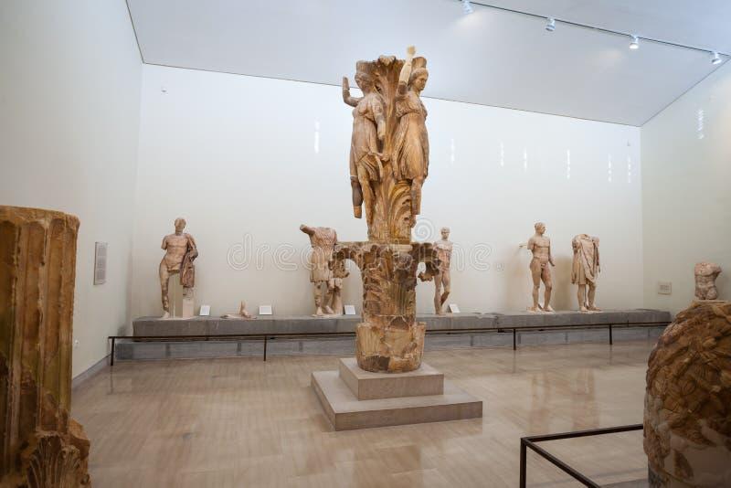 Delphi Archaeological Museum royalty-vrije stock foto's