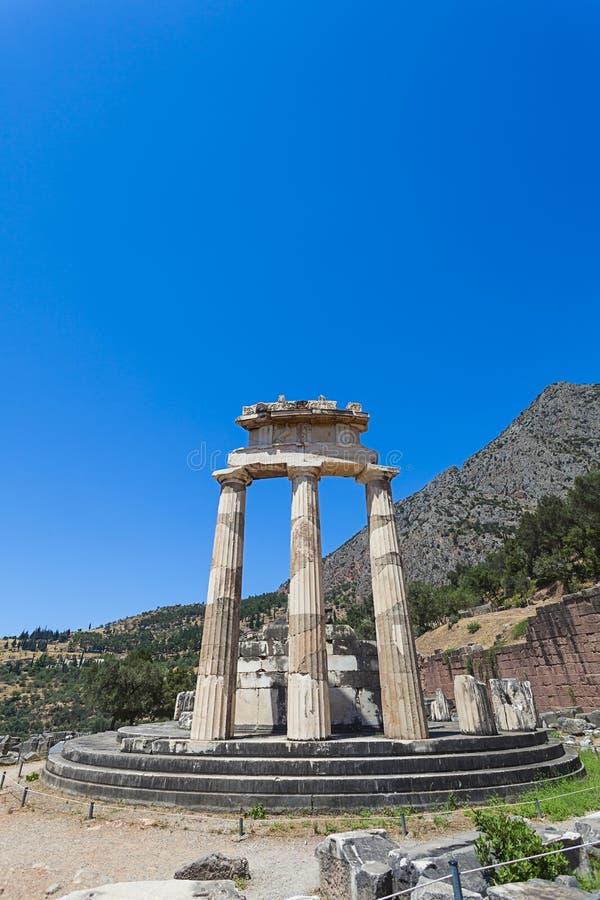Delphi, Grecia imágenes de archivo libres de regalías