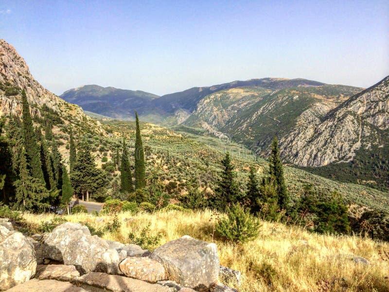 Delphi, Grecia fotos de archivo