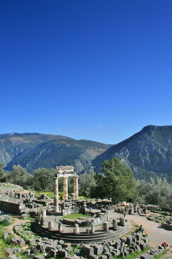 delphi Greece obrazy stock