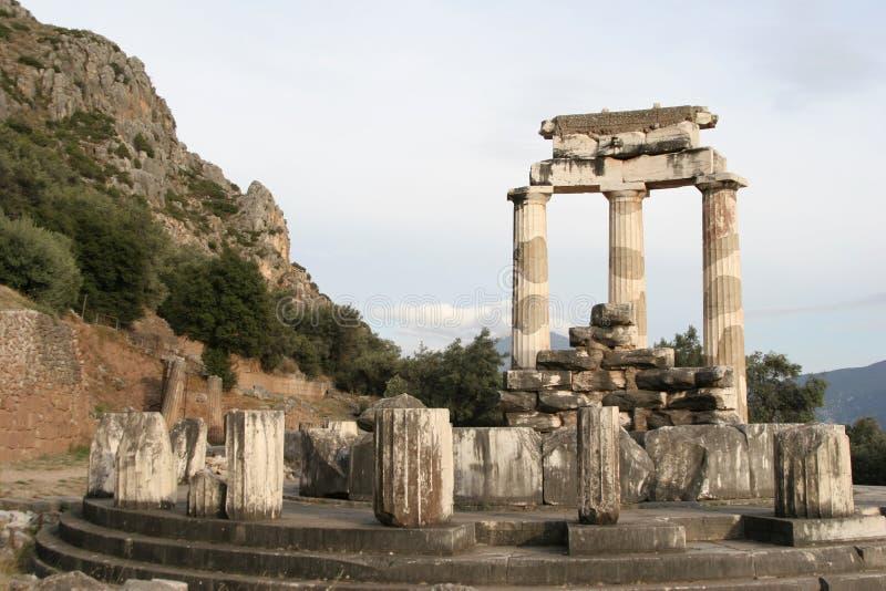 delphi Greece fotografia stock