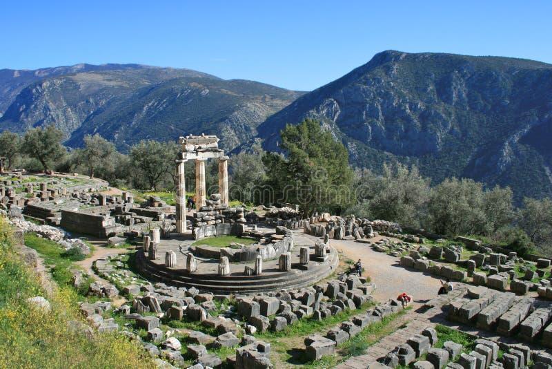 Delphi Griekenland royalty-vrije stock afbeeldingen