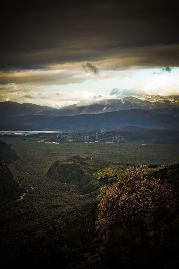 Delphi Griekenland royalty-vrije stock foto's