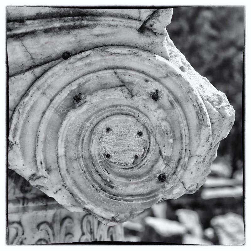 delphi ruiny obrazy royalty free