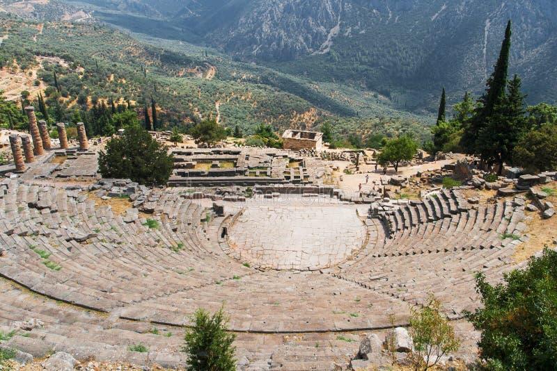 Delphi Theatre image libre de droits