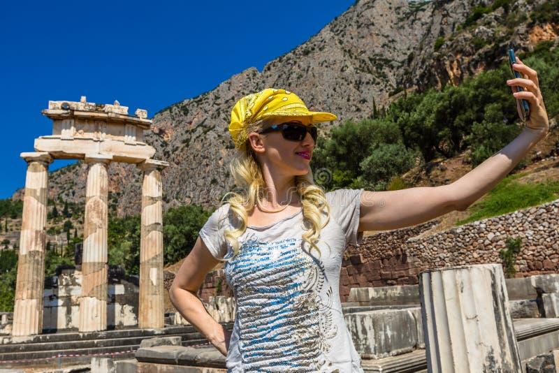 Delphi Tholos photo stock