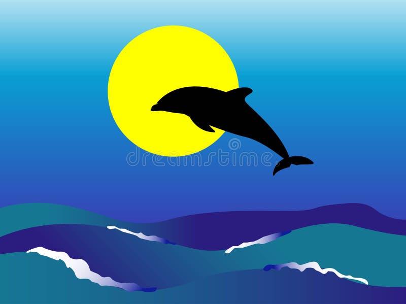 Delphin lizenzfreie abbildung