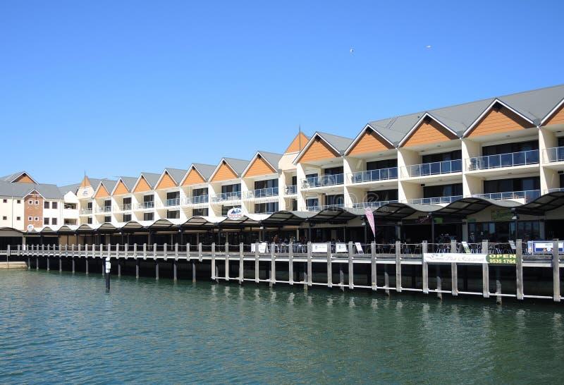 Delphin Quay lizenzfreies stockbild