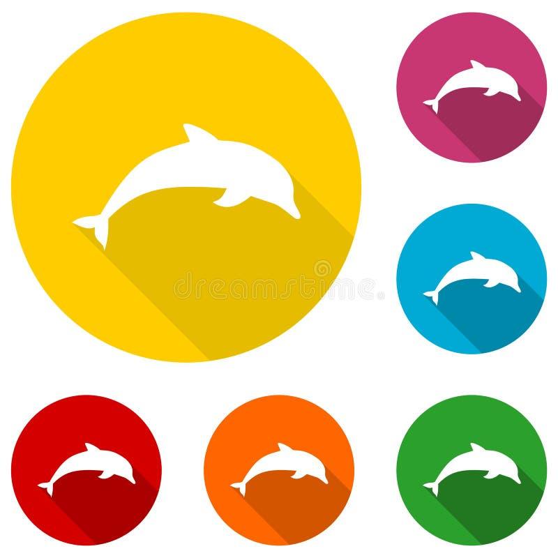 Delphinikone vektor abbildung