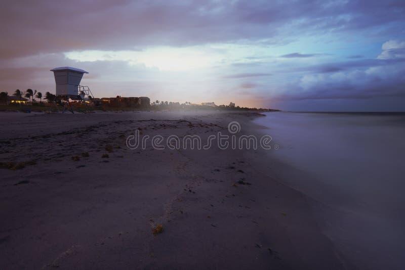 Delray Beach foto de archivo libre de regalías