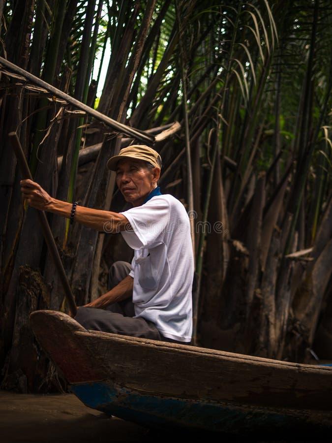 Delta湄公河 免版税库存图片