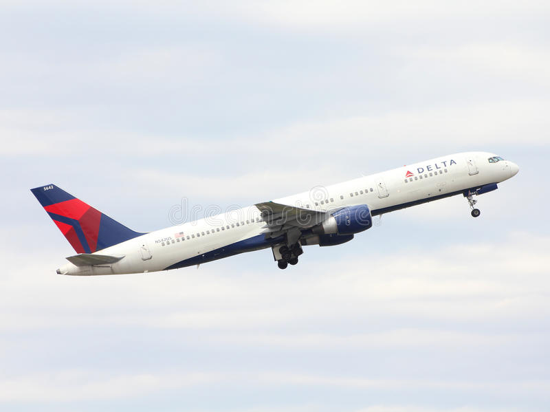 Delta Air Lines stock image