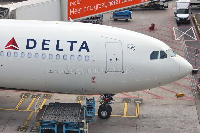 Delta Air Lines photos libres de droits