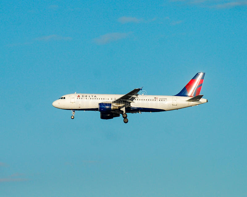 Delta Airlines images stock