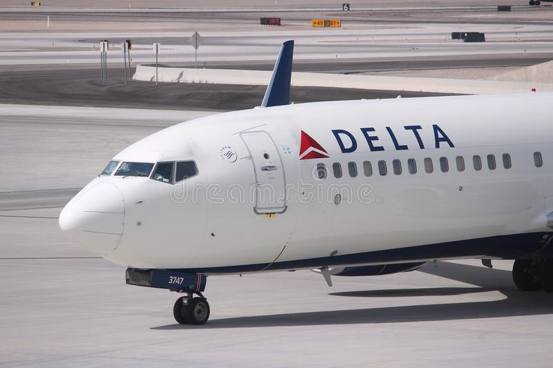 Delta Airlines photos stock