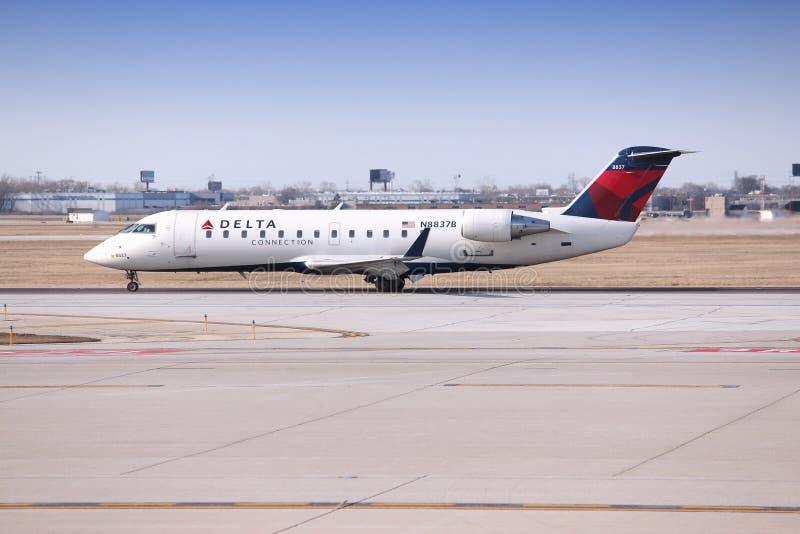 Delta Airlines photo libre de droits