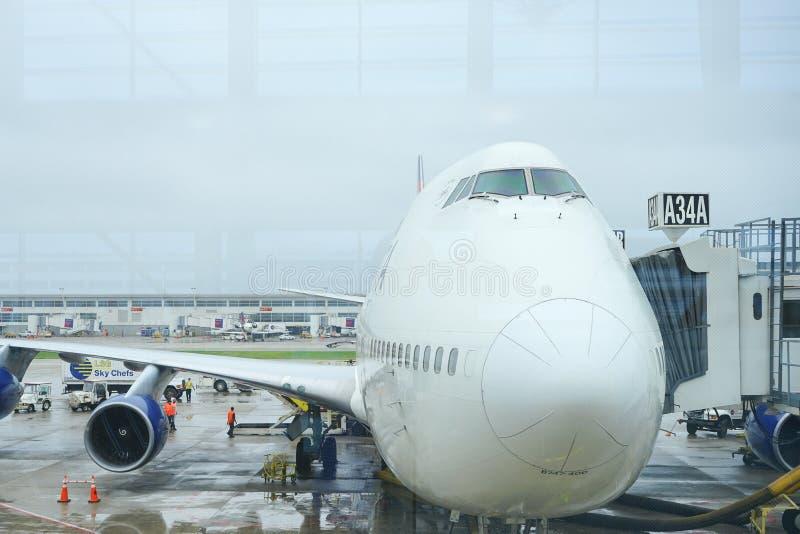 Delta Airlines arkivbild