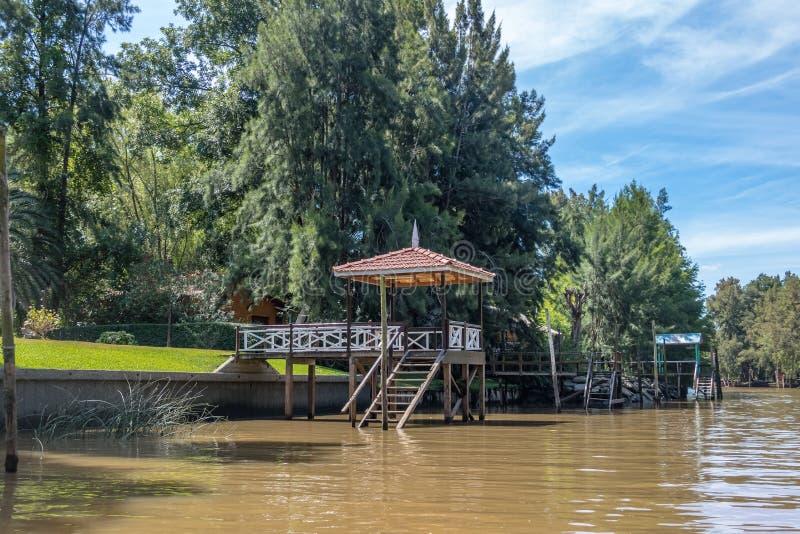 Delta de Tigre - Tigre, provincia de Buenos Aires, la Argentina imagen de archivo libre de regalías