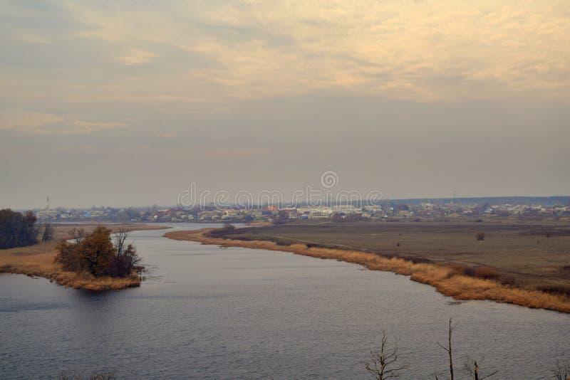 Delta del fiume fotografia stock libera da diritti