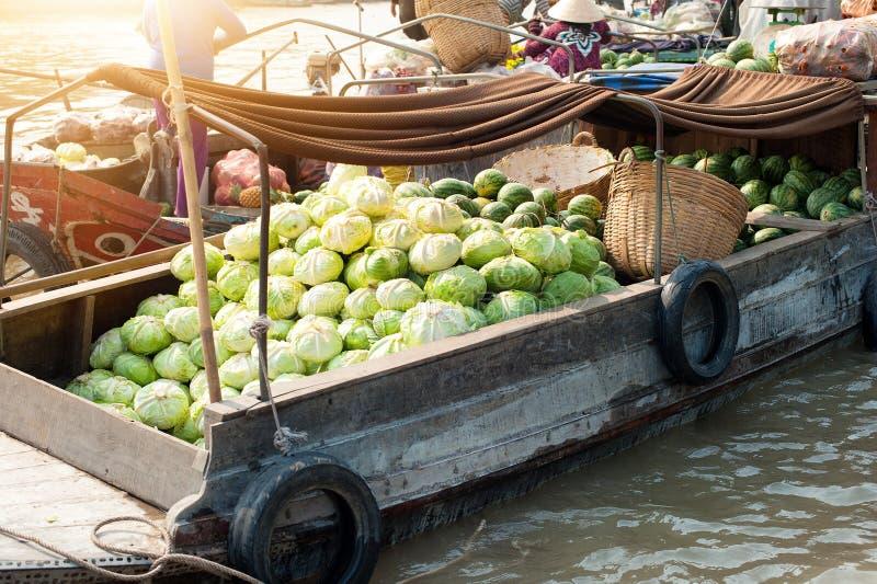 Delta du Vietnam, le Mekong photos libres de droits